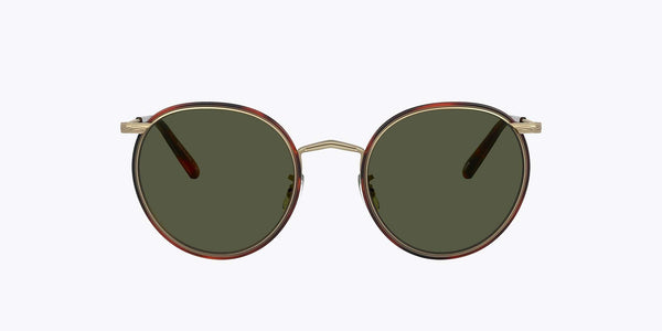 Oliver Peoples Casson  - Antique Gold-Dark Mohogany / G15