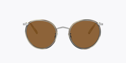 Oliver Peoples Casson  - Silver Beige Horn / True Brown