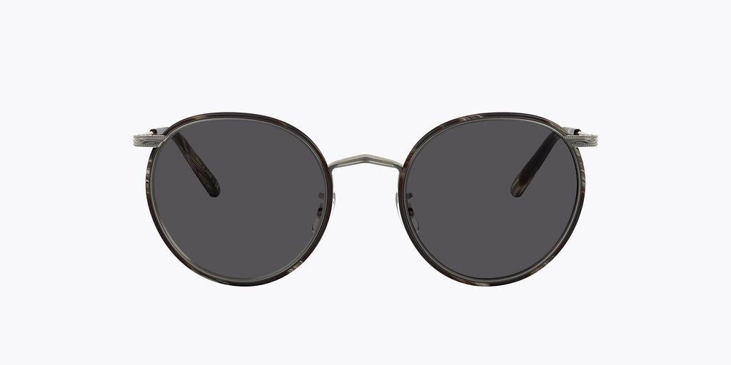 Oliver Peoples Casson  - Pewter Black Horn / Carbon Grey