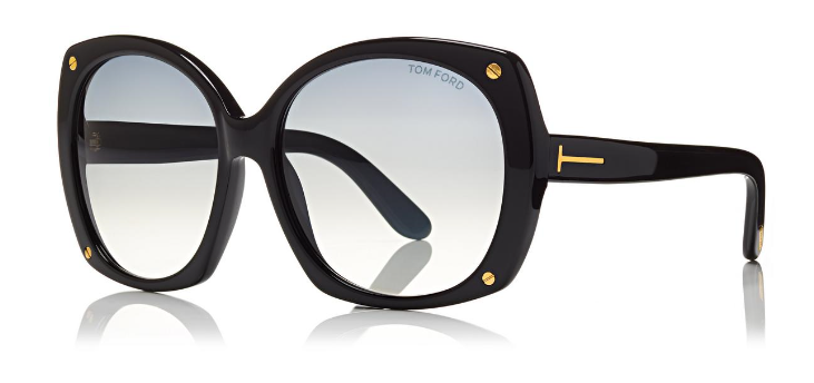 474ce3bf898 Tom Ford Sunglasses GABRIELLA TF362 in Black – boutiquetozzi
