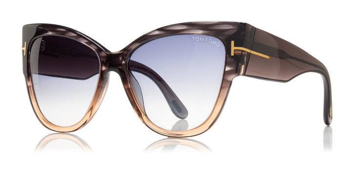 f6f49a9d94f Tom Ford Sunglasses ANOUSHKA TF371 in Melange Grey – boutiquetozzi