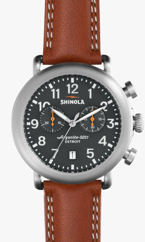 Shinola watch THE RUNWELL CHRONO 41MM in GREY
