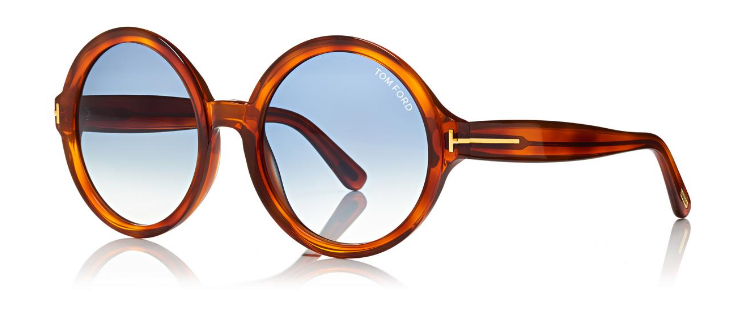 Tom Ford Sunglasses JULIET TF369 in Havana