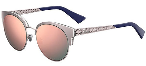 Dior Ladies Sunglasses Diorama Mini in Silver/Grey Pink