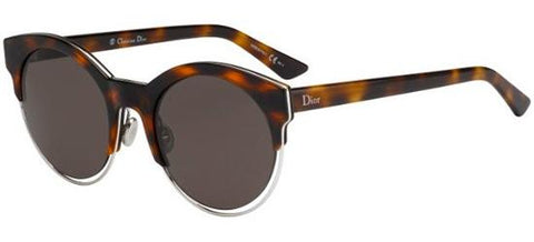 Dior Ladies Sunglasses Sideral 1 in Havana Palladium/Brown