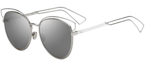 Dior Ladies Sunglasses Sideral2 in Silver/Grey Silver