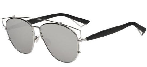Dior Ladies Sunglasses Technologic in Silver Black/Silver