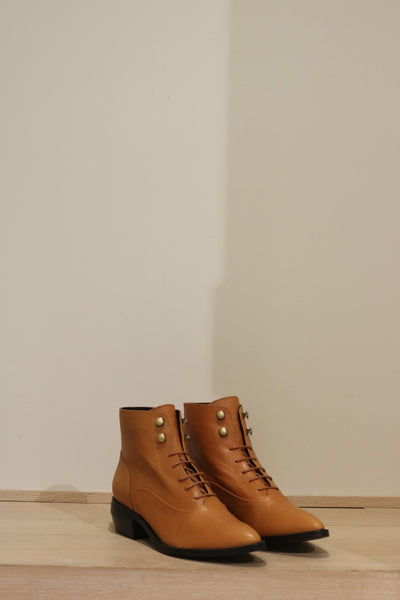 Intentionally Blank - Bottes WEST - Tan