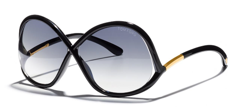 Tom Ford Sunglasses IVANNA TF372 in Black