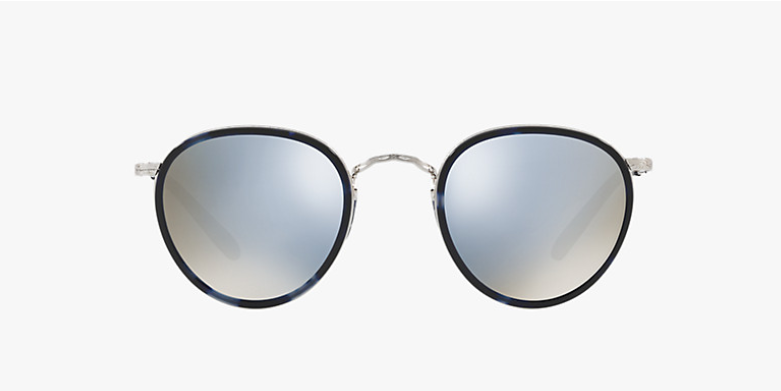 Oliver Peoples MP -2 Sun in Cobalt Tortoise + Blue Mirror Gold Lens