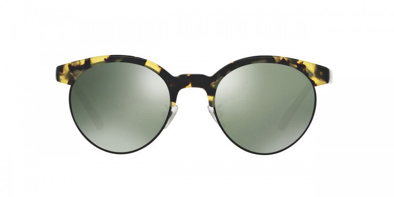 Oliver Peoples Ezelle in VDTBK/Matte Black + G-15 Goldtone Polar Glass
