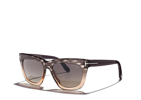 Tom Ford Sunglasses CELINA TF361 in Melange Grey