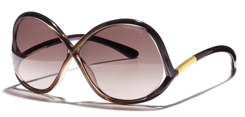 Tom Ford Sunglasses IVANNA TF372 in Purple/Brown