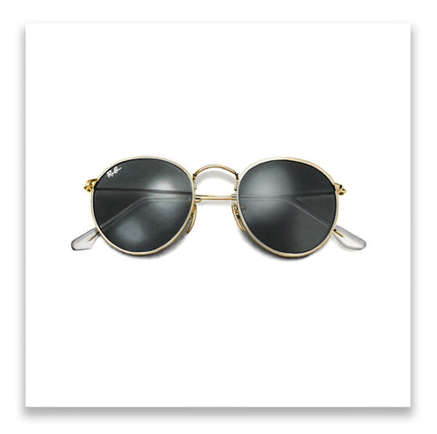 Erin Rothstein Art - GOLD SUNGLASSES