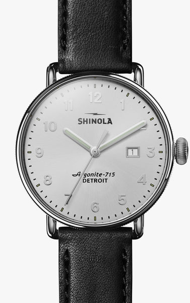 Shinola watch THE CANFIELD 43mm in White