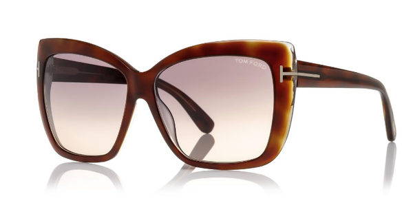 Tom Ford Sunglasses IRINA TF390 in Havana