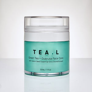 Green Tea + Guayusa Face Care