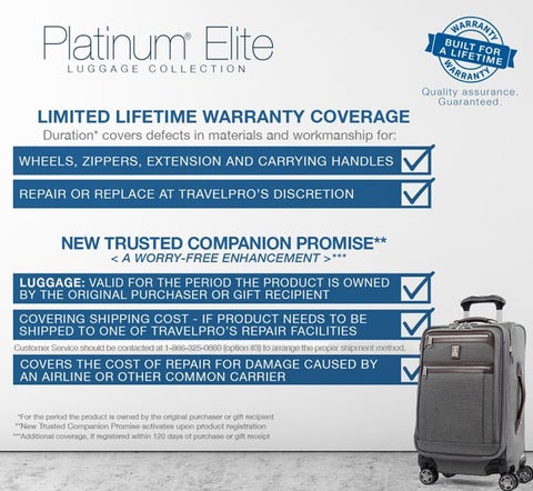 Platinum Elite Collection Warranty-EN