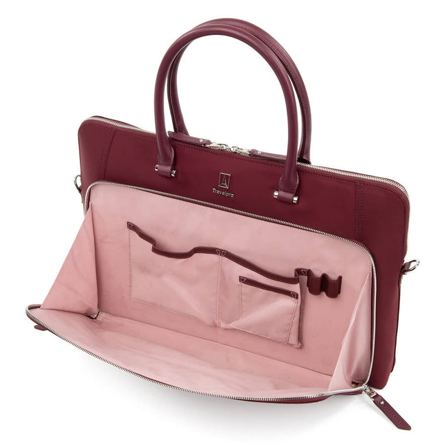 409184609, Bordeaux, Travelpro Laptop Brief, Platinum Elite Ladies Business Case, Travelpro Women's Business Case, Travelpro Platinum Elite Laptop Brief, Travelpro Brief with Tablet Sleeve, Porte-documents pour ordinateur Travelpro, Mallettes pour Femme Platinum Elite, Mallettes pour Femme Travelpro, Porte-documents pour ordinateur Platinum Elite de Travelpro, Porte-documents Travelpro avec compartiment pour ordinateur, Travelpro Canada