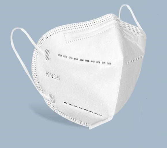 5pcs KN95 Mask Disposable Face Mouth Mask 95% Filtration