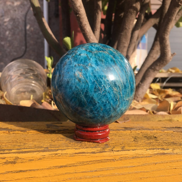 Natural Apatite Crystal Gemstone Ball