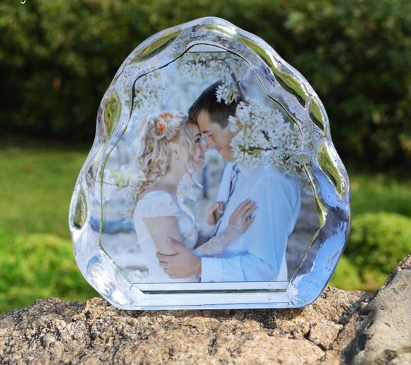 CUSTOMIZED PHOTO WAVY CRYSTAL