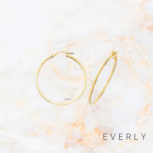 The Medium Round Hoops