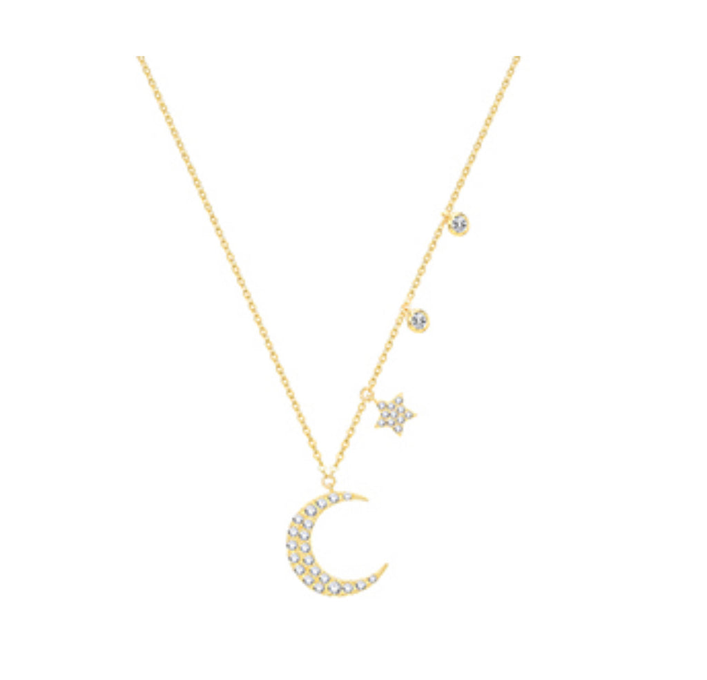 The Moon & Stars Necklace