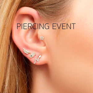 Piercing Event- Saturday 15th of February