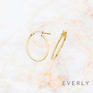 The Medium Oval Hoops