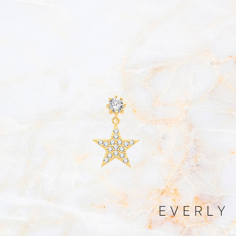 The Studded Star Drop