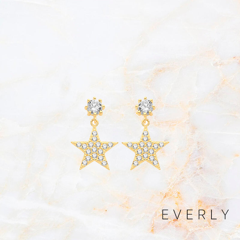The Studded Star Drops