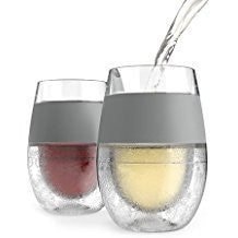 Set of 2 - Wine Freeze Glasses