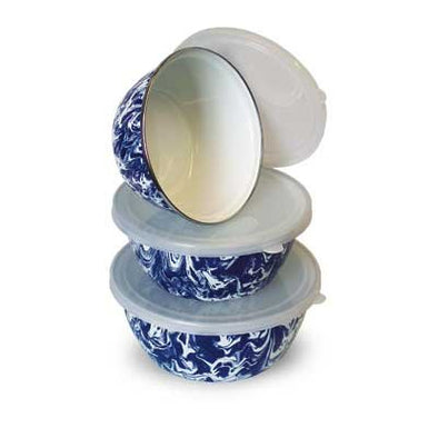 Nesting Bowls- Set of 3 with lids