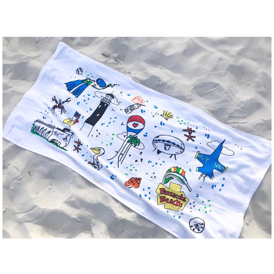 Custom Pensacola Beach Towel
