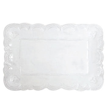 "Incanto Lace Rectangle Platter, 15.5"" x 10.25"""