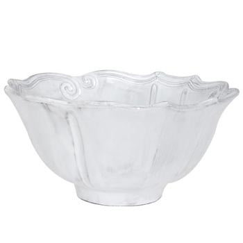"Incanto Baroque Serving Bowl, 10.5 x 5"" Height"