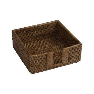 Rattan Beverage Napkin Holder