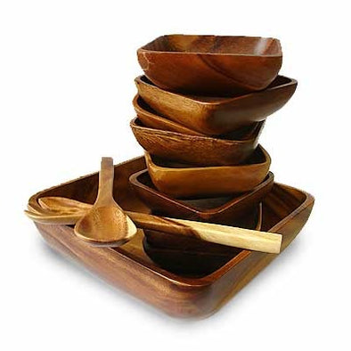 Square Salad Set