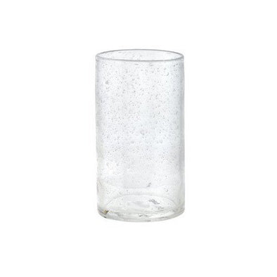 Clear Seeded Tumbler, 18 oz