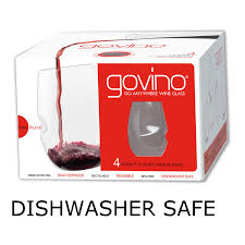 GoVino set of 4 glasses