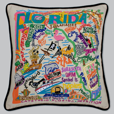 Cat Studio Florida Pillow