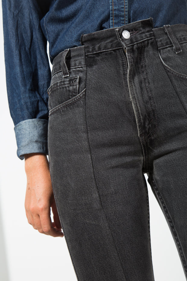 Vintage 80s Reworked Levis Deconstructed Mom Denim Jeans