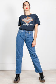 Vintage Levi's 501 Original High Waisted Jeans