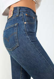 Vintage Levis 501 Original High-Waisted Jeans