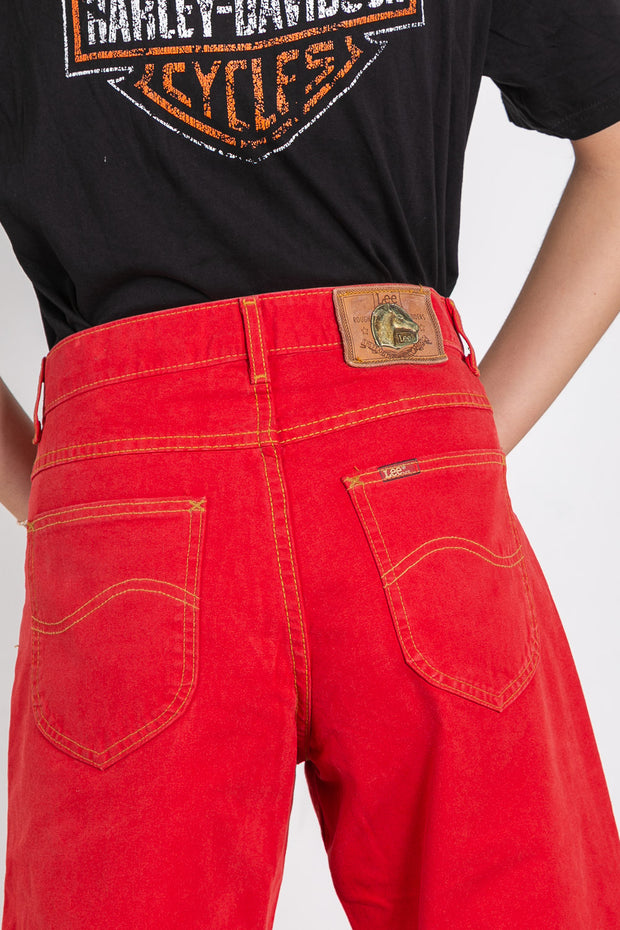 Vintage Lee Original High Waisted Jeans Rider