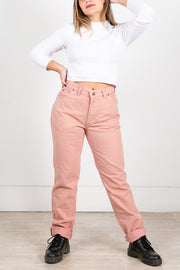 Vintage Lee Original High Waisted Jeans Pink
