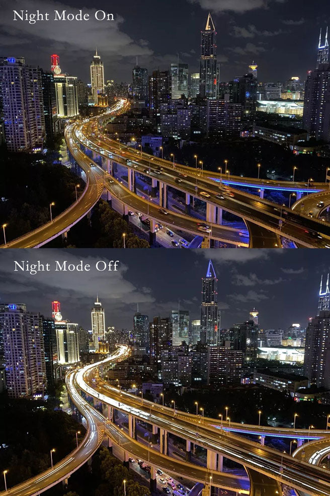 iPhone 11 Pro Max Night Mode On and Off Comparision