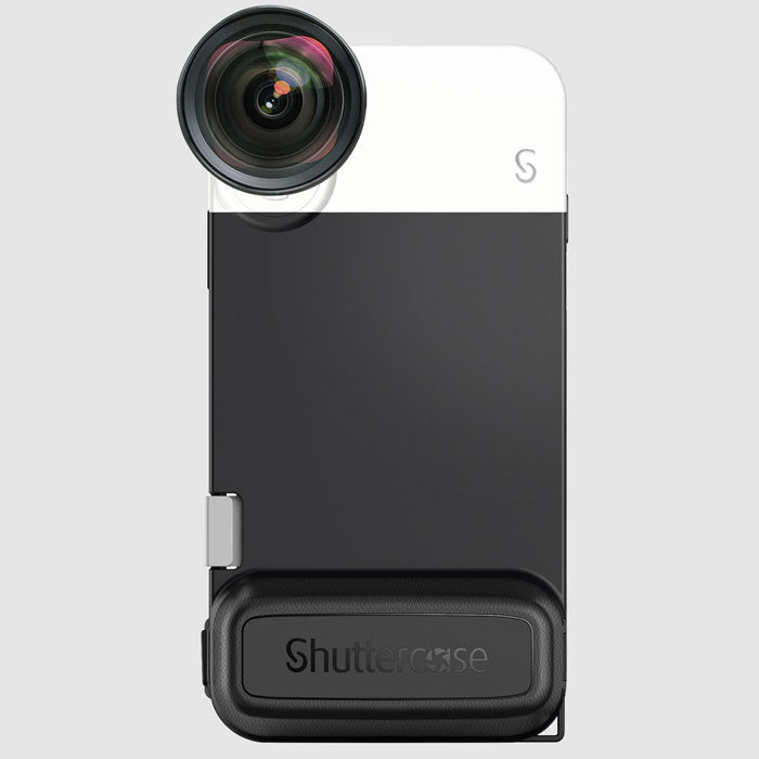 Shuttercase with Moment Lens Interface for iPhone XS/X ( Lens not included )