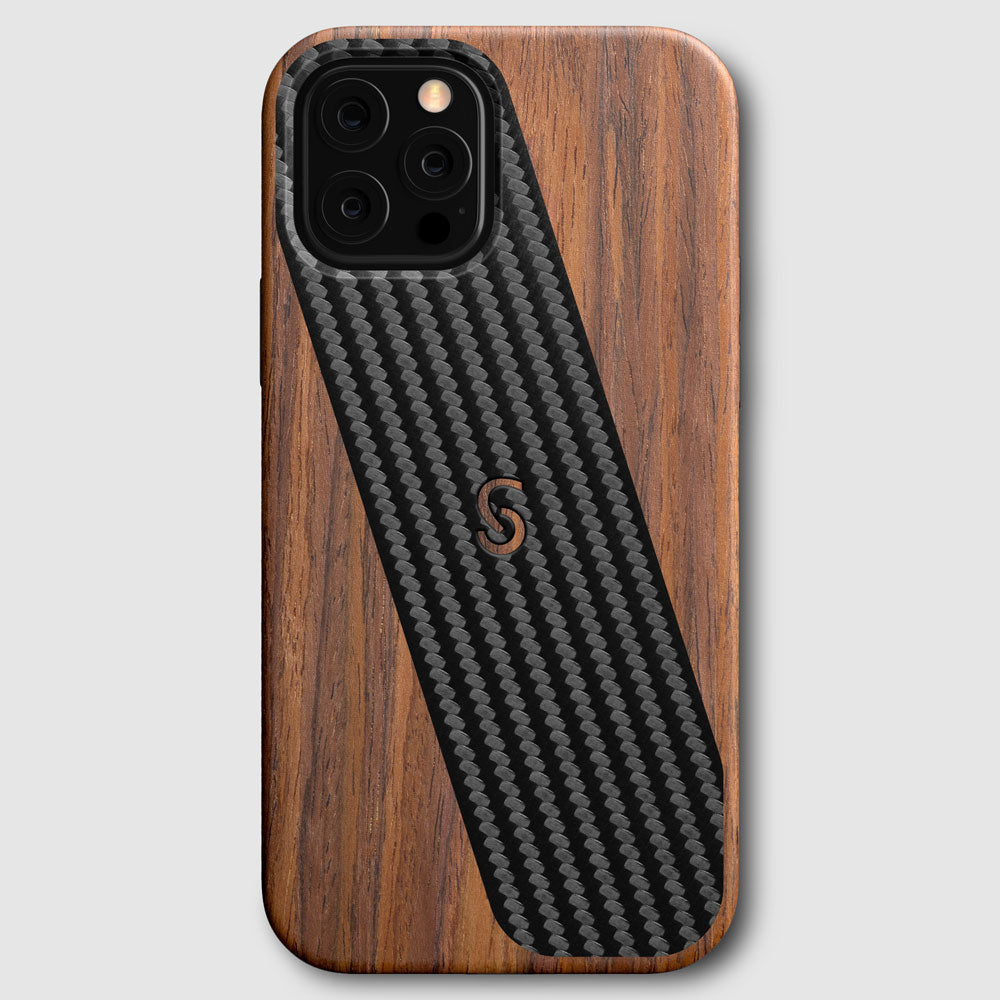 Zencase Lite iPhone 12 Wood Case